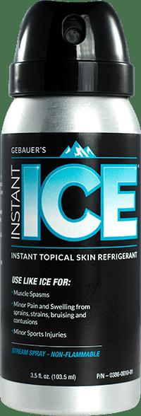 Gebauer's Instant Ice.